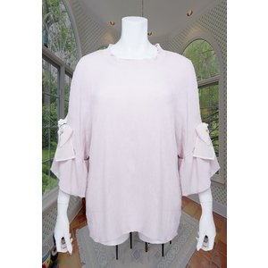 LeSentier(ルセンティエ)/Tシャツ/ピンク/LS7070209|mitsuki-web