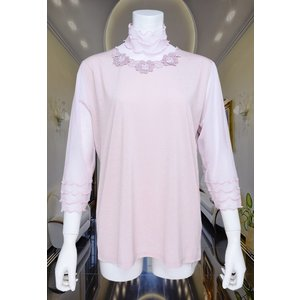 LeSentier(ルセンティエ)/Tシャツ/ピンク/LS7080213|mitsuki-web