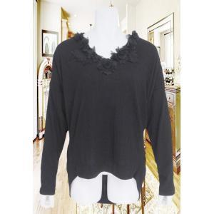 LeSentier(ルセンティエ)/Tシャツ/黒/LS8030216|mitsuki-web