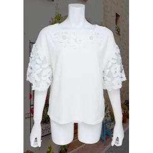 LeSentier(ルセンティエ)/Tシャツ/オフ/LS8080225|mitsuki-web