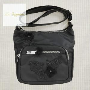 LeSentier(ルセンティエ)/ショルダーバッグ/黒/LS9070672|mitsuki-web
