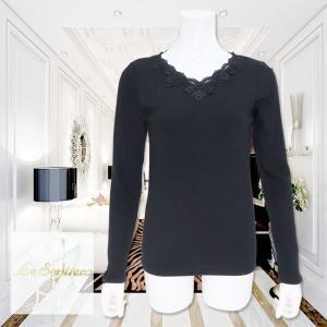 LeSentier(ルセンティエ)/Tシャツ/黒/LS9090241|mitsuki-web