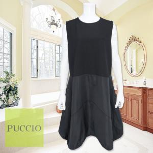 PUCCIO(プッチオ)/ジャンパースカート/黒/P20614458|mitsuki-web