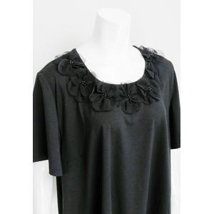 PrinciPessa(プリンチペッサ)/ビッグTシャツ/黒/PP11165|mitsuki-web|04