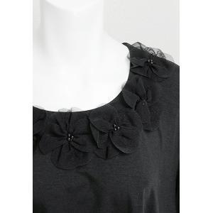 PrinciPessa(プリンチペッサ)/ビッグTシャツ/黒/PP11165|mitsuki-web|05