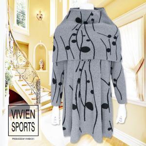 VIVIEN SPORTS(ヴィヴィアンスポーツ)/チュニック/グレー/V1404012 mitsuki-web