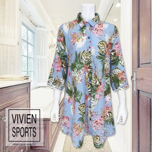 VIVIEN SPORTS(ヴィヴィアンスポーツ)/ワンピース/ブルー/V8992322|mitsuki-web