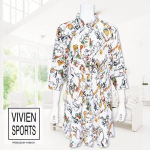 VIVIEN SPORTS(ヴィヴィアンスポーツ)/ロングブラウス/オフ/V9002039 mitsuki-web