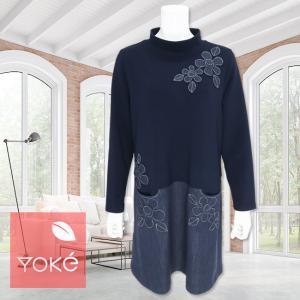 YoKe(ヨーク)/チュニック/紺/Y21029 mitsuki-web