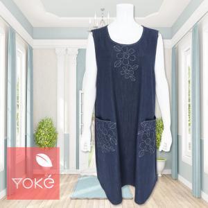 YoKe(ヨーク)/ジャンパースカート/紺/Y41007|mitsuki-web