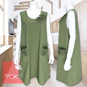 YoKe(ヨーク)/エプロン/モスグリーン/Y41008|mitsuki-web