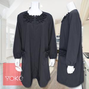 YoKe(ヨーク)/カッポウ/黒/Y41009|mitsuki-web