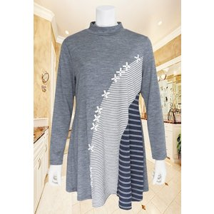 ZELU(ゼル)/Tシャツ/チャコール/Z16714062|mitsuki-web