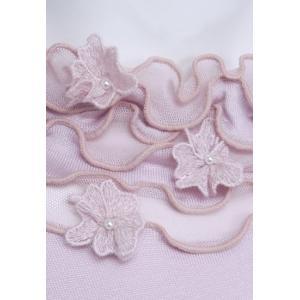 プルオーバー レディース ZELU ゼル ピンク 花飾り ハイネック Z18122080|mitsuki-web|06