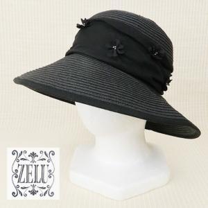 ZELU(ゼル)/帽子/黒/Z19296080 mitsuki-web