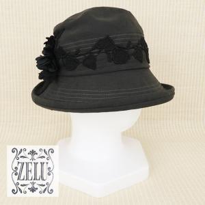 ZELU(ゼル)/帽子/黒/Z20696102|mitsuki-web