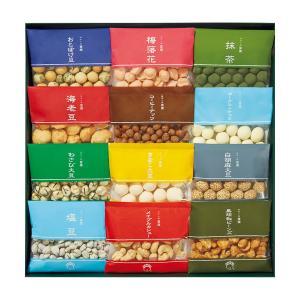 三越 お歳暮 御歳暮 ギフト 個包装 米菓 豆菓子 B048713 麻布十番〈豆源〉豆好み