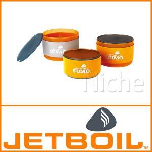 JETBOIL ジェットボイル SUMOコンパニオンボウルセット  1824373|mitsuyoshi