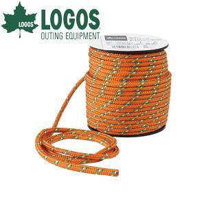 サイズ:(約)直径4mm×30m  ■ LOGOS ロゴス アウトドア用品 アウトドアキャンプ用品の...