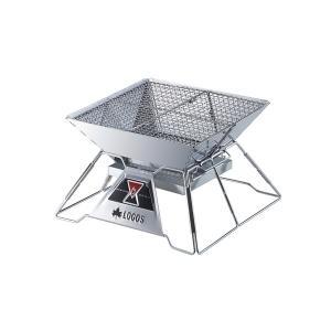LOGOS ロゴス 焚火ピラミッドグリルEVO-M (コンパクトタイプ)  81064104|mitsuyoshi