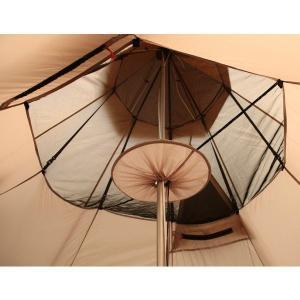 シングルルーフ構造のピルツに取り付けることで虫の侵入を防ぎ、寒い時期には暖かく過ごすことが可能になり...