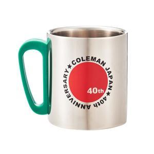 Coleman コールマン ダブルステンレスマグ 40thリミテッド (ライムグリーン)  2000029863|mitsuyoshi