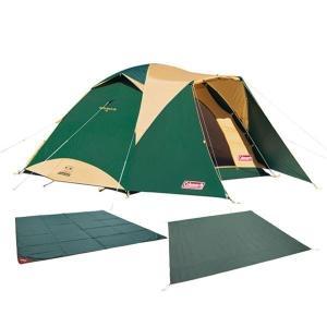 1人でも設営できるアシスト機能が付いた安心の タフワイドドームIV/300にテントの必須アイテムをセ...
