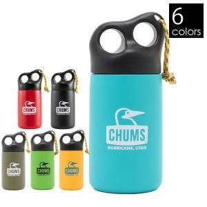 チャムス キャンパーステンレスボトル 320  CH62-1409 キャンプ用品|ニッチ・リッチ・キャッチ