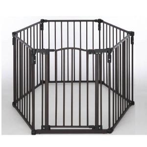 キャッシュレスポイント還元 スーパーヤード セーフティーフェンス ( ブラック ) [ NS4936 ] ストーブ フェンス ゲート|mitsuyoshi