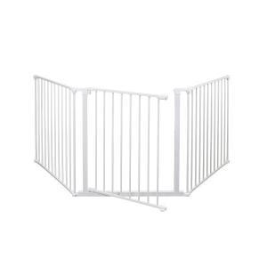 キャッシュレスポイント還元 ベビーダン ( BabyDan ) ハースゲート L ( ホワイト ) [ 56807 ] ストーブ ゲート 保護|mitsuyoshi