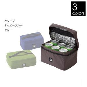 Compact Cooler Bag(L)  Sサイズには350ml缶を3本、500mlのペットボト...