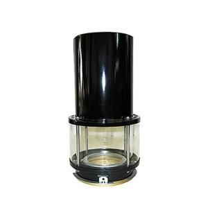 アラジンストーブ 用 部品 外筒組立品(ブラック)|ニッチ・リッチ・キャッチ