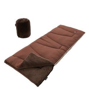表はサラサラ、中はやわらか!暖かくて気持ちいい寝袋 本来、保温性を高めるためには多くの中綿を必要とす...
