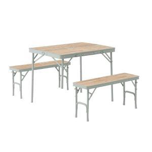 ロゴス LOGOS Life ベンチテーブルセット 4  73183013 キャンプ用品|mitsuyoshi