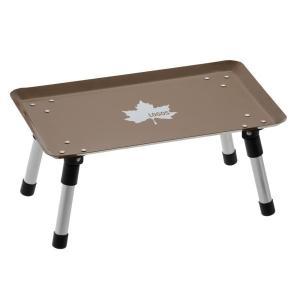 ロゴス テーブル スタックカラータフテーブル ( ヴィンテージキャラメル ) アウトドア 机