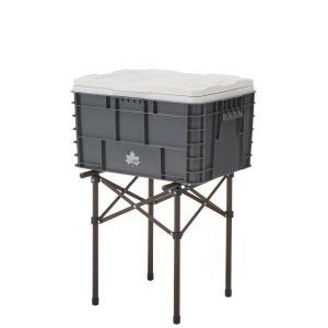 ▼クーラーボックスなどに便利な実用性抜群のスタンド あると便利な高さ約415cmのマルチスタンド。耐...