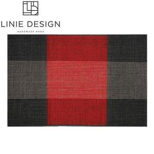 LINIE DESIGN リニエデザイン ハースラグ ボローニャ レッド LN001 / 薪ストーブアクセサリー|mitsuyoshi