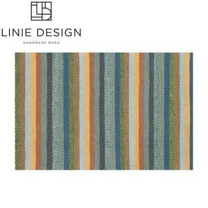 LINIE DESIGN リニエデザイン ハースラグ キャラバン グリーン LN004 / 薪ストーブアクセサリー|mitsuyoshi