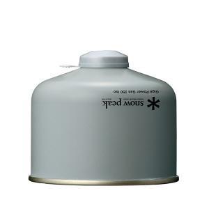 スノーピーク ガス ギガパワーガス 250 イソ GP-250SR アウトドア OD缶 キャンプ