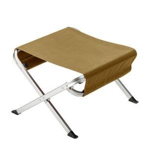 キャッシュレスポイント還元 スノーピーク チェア ローチェアオットマン カーキ LV-103KH アウトドア 椅子 足置きの写真