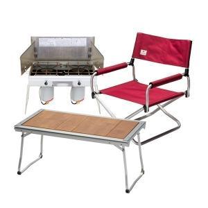 スノーピーク エントリーIGTセット ツーバーナー テーブル チェア キャンプ用品|mitsuyoshi