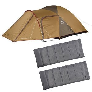 スノーピーク テント アメニティドームM & エントリーパックSS シュラフ セット キャンプ用品|mitsuyoshi