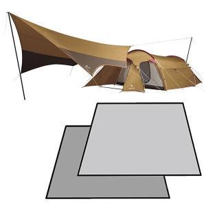 スノーピーク テント タープ エントリーパックTT & エントリーパックTT用 マットシート セット キャンプ用品|mitsuyoshi