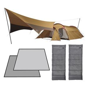 スノーピーク テント タープ エントリーパックTT マット シュラフ セット キャンプ用品|mitsuyoshi