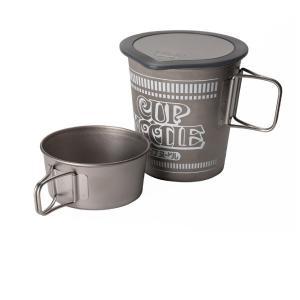 日清カップヌードルやリフィルを収納。スタッキングできるカップもセットです ■仕様 ●材質:ポット/チ...