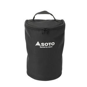 収納、持ち運びに便利! 予備のマントルなどを収納できるポケット付。 ※本製品はSOTO虫の寄りにくい...