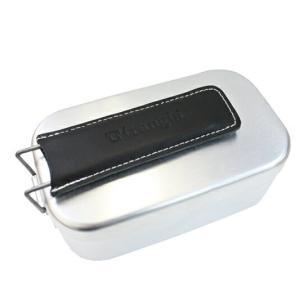 メスティン、ラージメスティン兼用のtrangiaのロゴ入りレザー製ハンドルカバーです。 ■仕様 [カ...