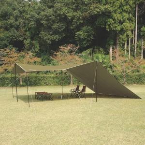 ユニフレーム UFビックタープ 8×6 カーキグリーン タープ 693254 キャンプ用品 お1人様...
