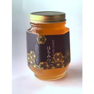 送料無料 百花蜜 日本みつばちの天然はちみつ 非加熱 250g ハニー はちみつ 国産 無添加 蜂蜜 ハチミツ ミツバチ みつばち 純粋