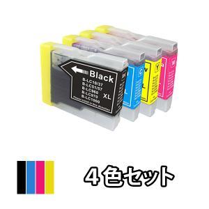 BROTHER ブラザー 互換インク LC10-4PK 4色セット MFC-5860CN MFC-8...